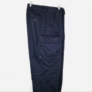 5.11 Tactical Pants 40x33 Navy Blue Comfort Waist